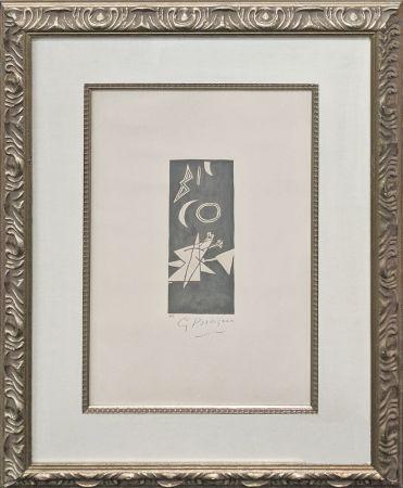 Литография Braque - CIEL GRIS II