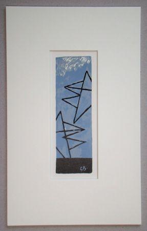 Литография Braque (After) - Ciel Gris II.