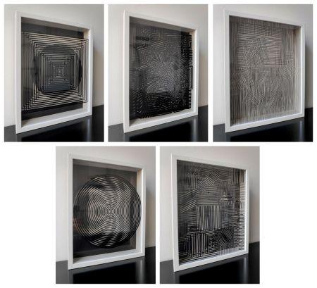 Многоэкземплярное Произведение Vasarely - Cinetiques