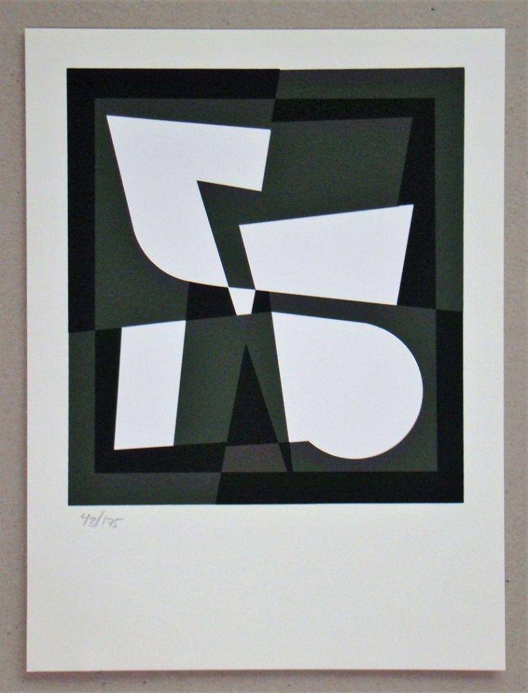 Сериграфия Vasarely - Cingsha