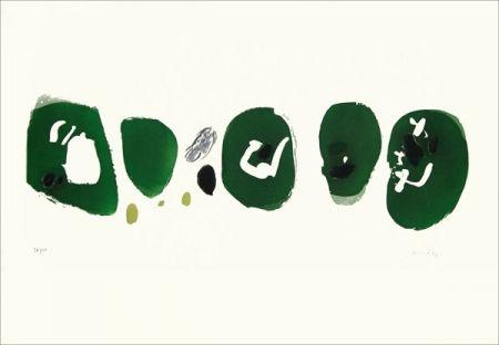 Офорт Capdeville - Cinq marques vertes