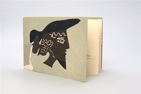 Иллюстрированная Книга Braque - Cinq poésie en hommage à Braque