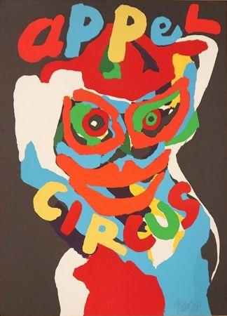 Литография Appel - Circus