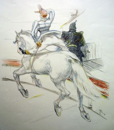 Литография Roig - Cirque / Circus