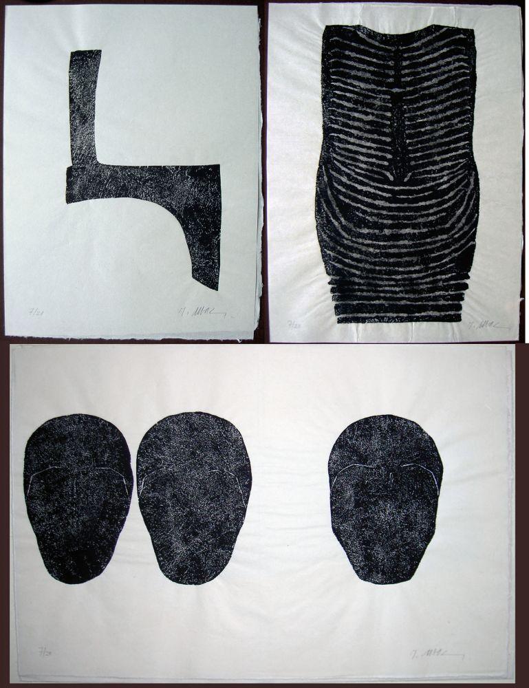 Иллюстрированная Книга Ubac - Claude Esteban: COMME UN SOL PLUS OBSCUR. Galanis 1979