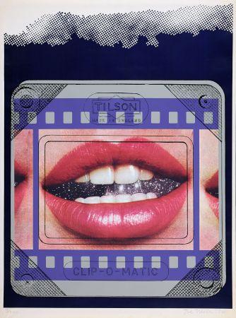 Сериграфия Tilson - Clip O Matic Lips