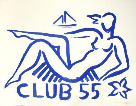 Литография Szczesny - Club 55
