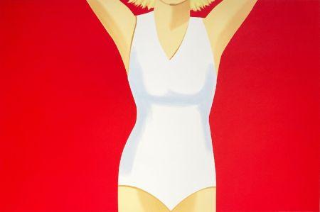 Сериграфия Katz - Coca-Cola Girl #2