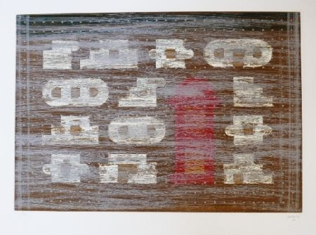 Офорт И Аквитанта Rojo - Codices 4