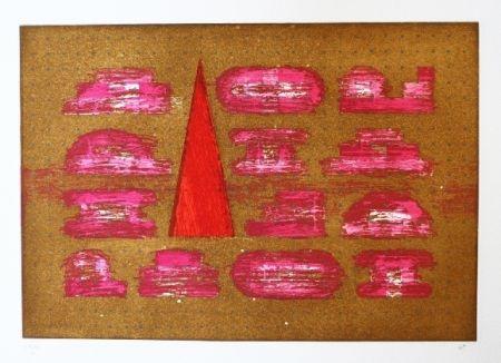 Офорт И Аквитанта Rojo - Codices 5