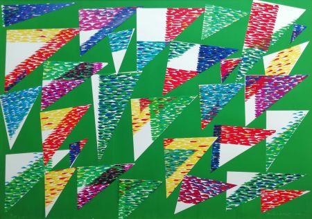 Многоэкземплярное Произведение Dorazio - Collage di Triangoli