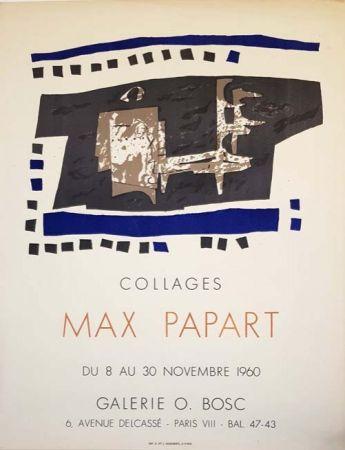 Литография Papart - Collages Galerie O  Bosc
