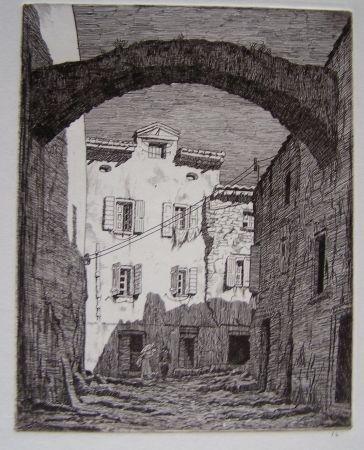 Гравюра Strang - Collioure