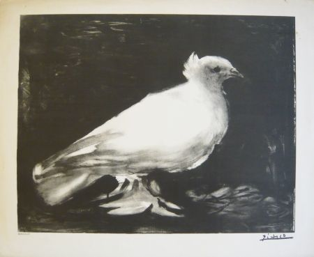 Литография Picasso - Colombe