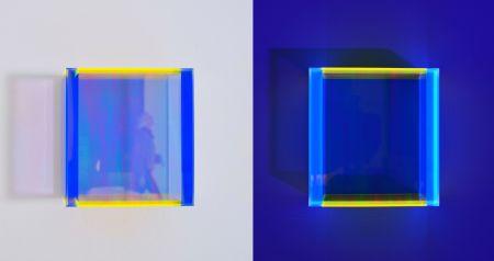 Многоэкземплярное Произведение Schumann - Colormirror rainbow pastel blue hongkong