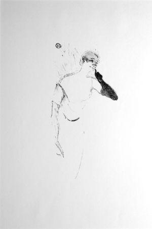 Литография Toulouse-Lautrec - Columbine à Pierrot