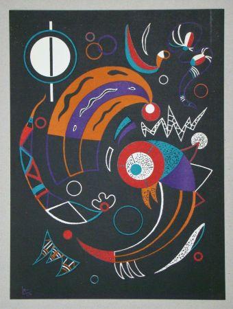 Литография Kandinsky - Comètes