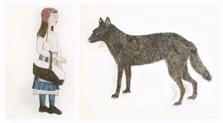Литография Smith - Companions - dyptique