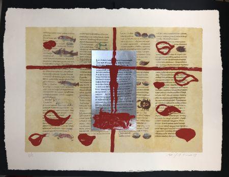 Многоэкземплярное Произведение Paladino - Complete folder with 8 works RABANUS MAURUS - De Universo