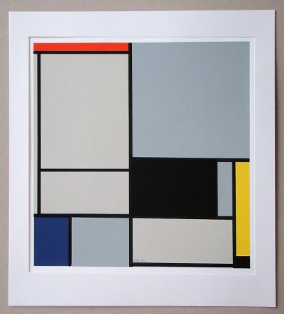 Сериграфия Mondrian - Compositie - 1921