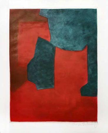 Гравюра Poliakoff - Composition
