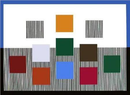 Сериграфия Soto - Composition