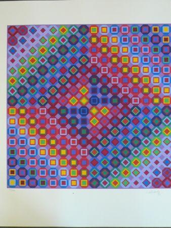 Сериграфия Vasarely - Composition