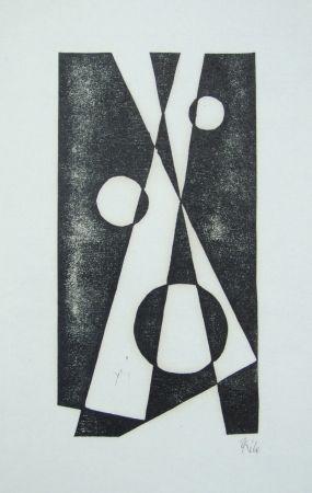 Гравюра На Дереве Maatsch - Composition