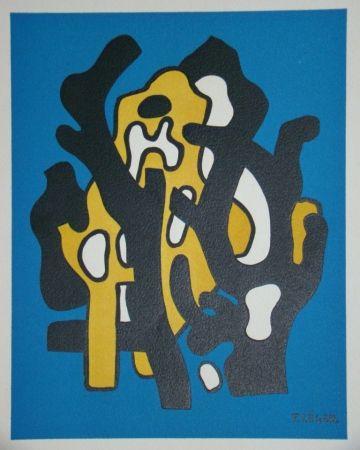Литография Leger - Composition