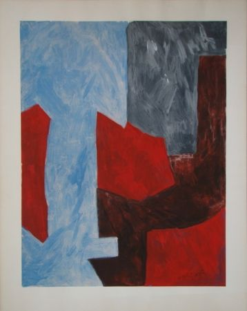 Литография Poliakoff - Composition