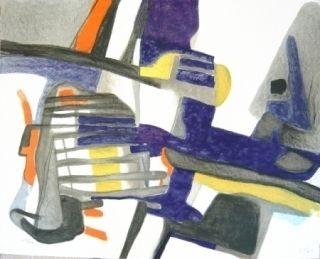 Литография Esteve - Composition