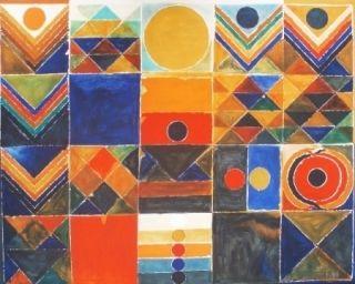 Литография Raza - Composition