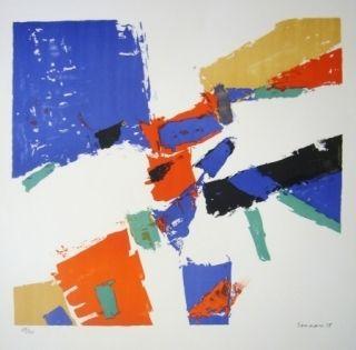 Литография Germain - Composition