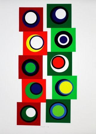 Сериграфия Claisse - Composition