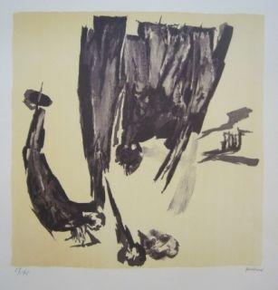 Литография Gastaud - Composition