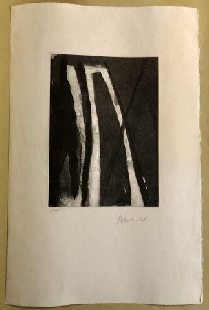 Гравюра Van Velde - Composition