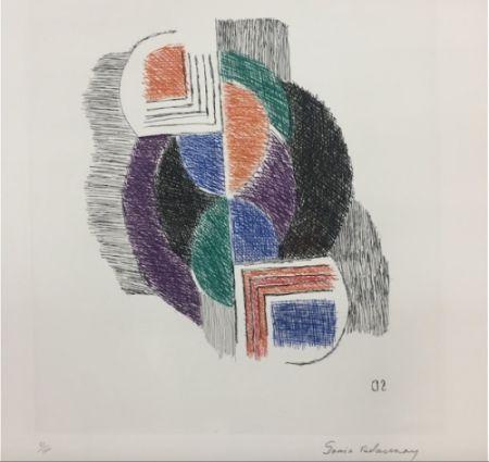 Гравюра Delaunay - Composition