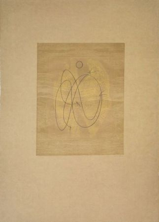 Гравюра Ernst - Composition