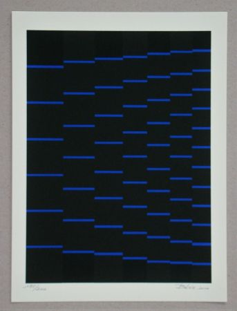 Сериграфия Bézie - Composition
