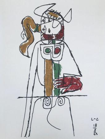 Литография Le Corbusier - Composition