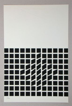 Сериграфия Vasarely - Composition
