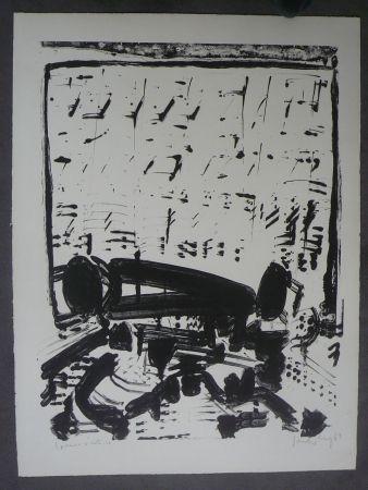 Литография Sonderborg - Composition,1963
