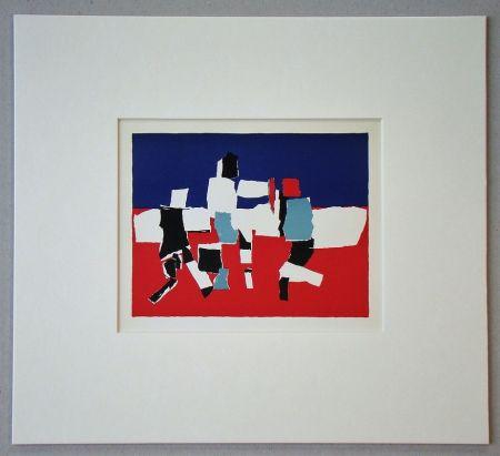 Литография De Stael - Composition - 1951