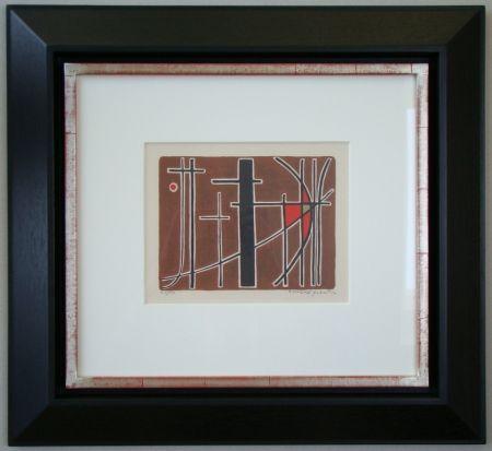 Литография Quentin - Composition - 1956