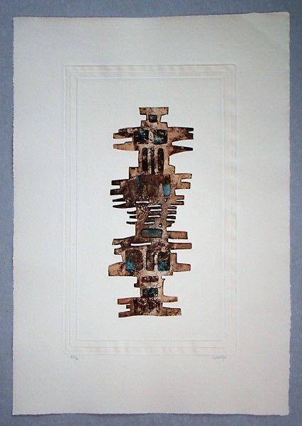 Акватинта Springer - Composition - 1970