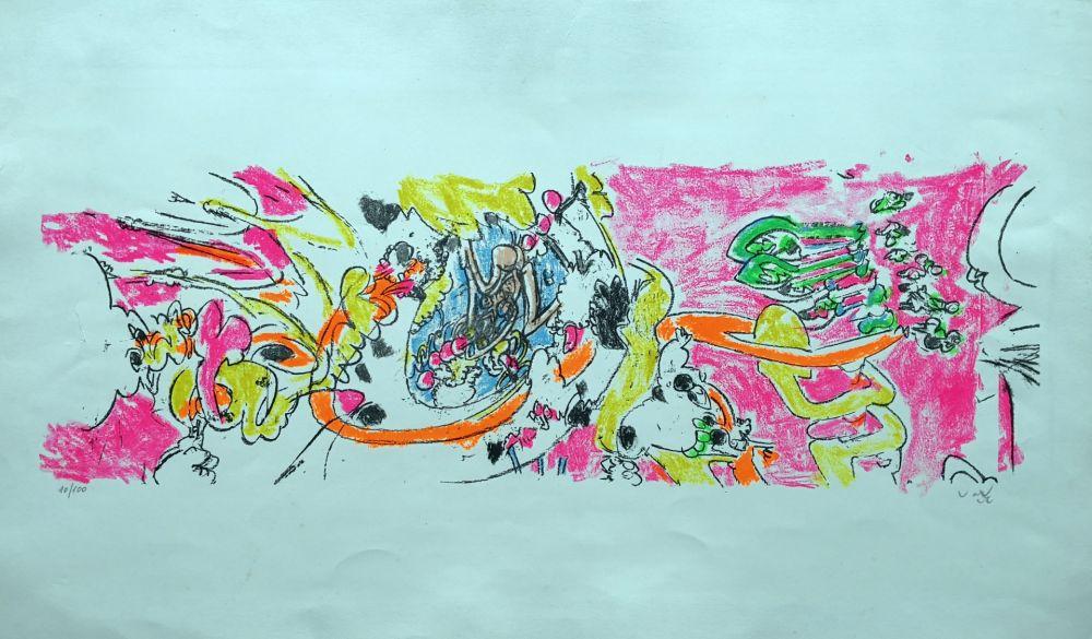 Литография Matta - Composition 1