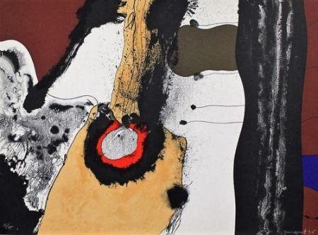 Литография Guinovart - Composition 1