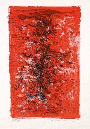 Литография Zao - Composition 124