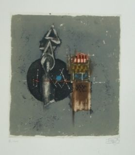 Гравюра Friedlaender - Composition 16