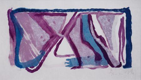 Литография Van Velde - Composition 170